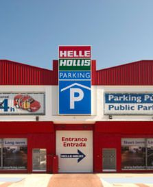 Services: Parking next to Malaga Airport